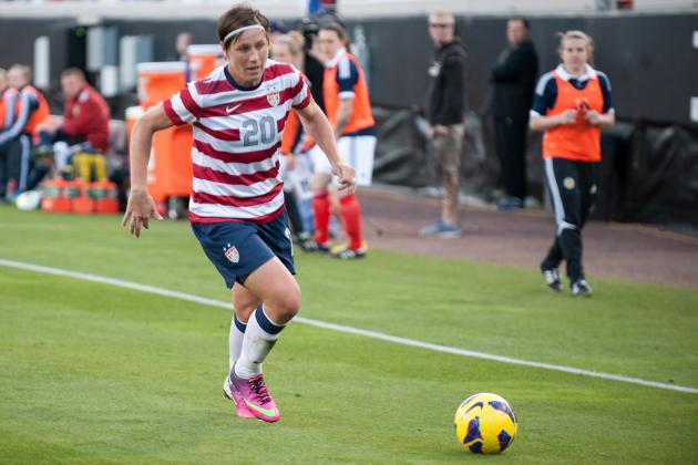 Wambach Scores Winner in 200th Cap to Lift USWNT over Scotland