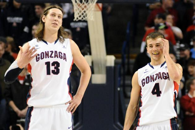 O'Neil: Pangos, Olynyk Travel Different Paths to Find Success at Gonzaga