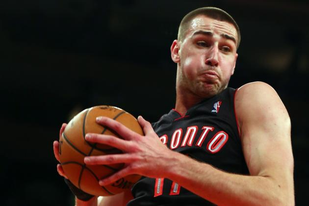 Raptors Jonas Valanciunas Quickly Making a Name for Himself