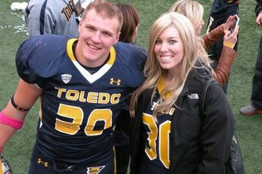 Toledo's Ben Pike Ends Football Career to Assist Ill Fiancee