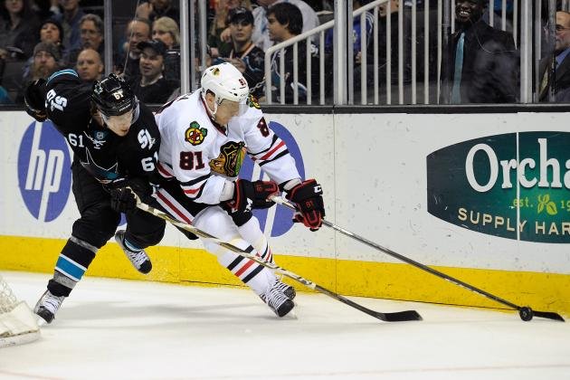 Blackhawks to Face Well-Rested Sharks Team Friday Night