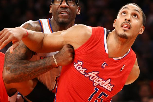 Clippers' Ryan Hollins Kicks Jeremy Lin While He's Down (VIDEO)
