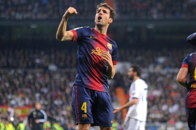 Barcelona's Cesc Fabregas Expects Tough Test from AC Milan