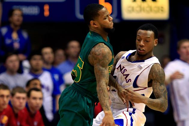 Bill Self: Naadir Tharpe Solid on D