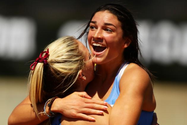 Michelle Jenneke: SI Swimsuit Model Rivals Katherine Webb in Sports World