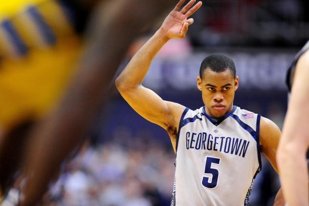 Georgetown to Wear Alternate Uniforms, Sneakers on Friday at Cincinnati