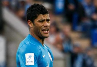 Hulk scored the winner for Zenit in their Europa League match against Liverpool today.