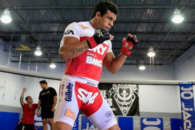 Vitor Belfort vs. Luke Rockhold Headlines UFC on FX 8 in Brazil, Set for May 18
