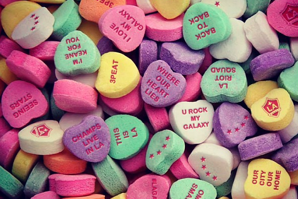 I'm Keane for You: Galaxy-Themed Candy Hearts