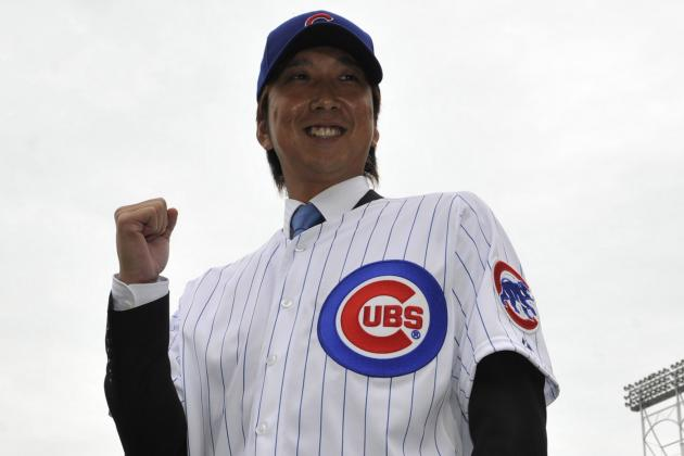 Fujikawa Adjusting Quickly to Cubs, U.S.