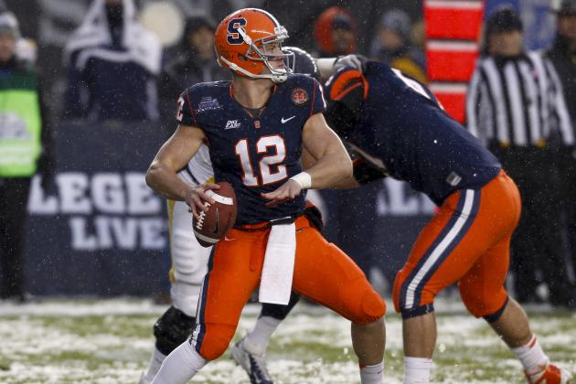 Nassib Will Do Everything at the Scouting Combine, Too