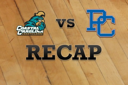 Coastal Carolina vs. Presbyterian: Recap, Stats, and Box Score