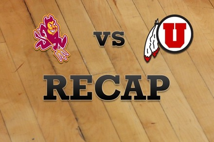 Arizona State vs. Utah: Recap, Stats, and Box Score