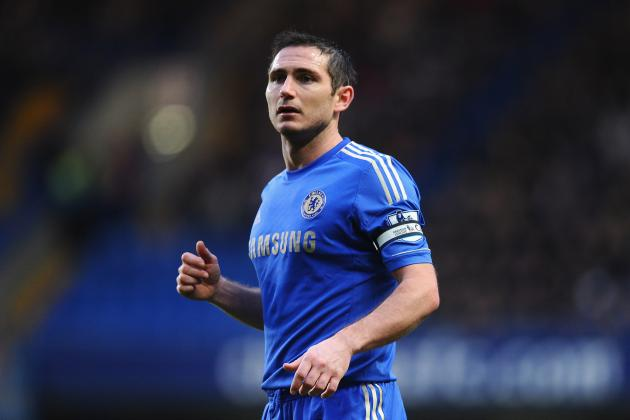 Chelsea Star Lampard a Summer Transfer Target for Everton Boss Moyes