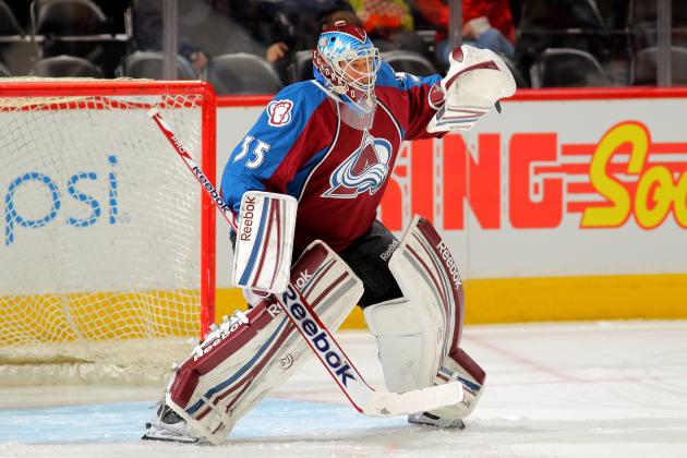 Avalanche's J.S. Giguere Happy for Start vs. Minnesota Wild