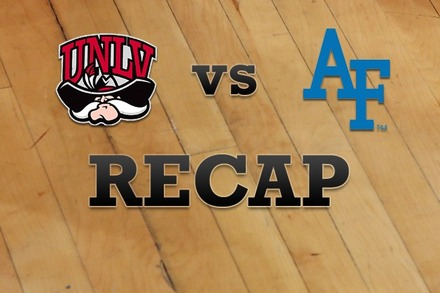 UNLV vs. Air Force: Recap, Stats, and Box Score