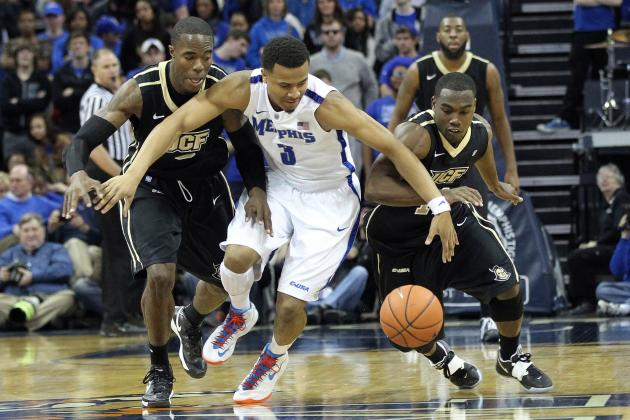 Memphis Tigers Take Down UCF After Rising in Polls, 93-71
