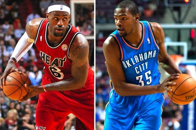 Complete Statistical Breakdown Comparing LeBron James and Kevin Durant