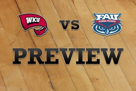 Western Kentucky vs. Florida Atlantic: Full Game Preview