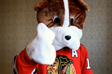 Patrick Sharp Dresses Up Like a Dog for Valentine's Day Surprise
