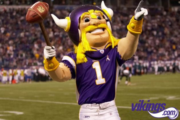 Vikings Give Old Logo a