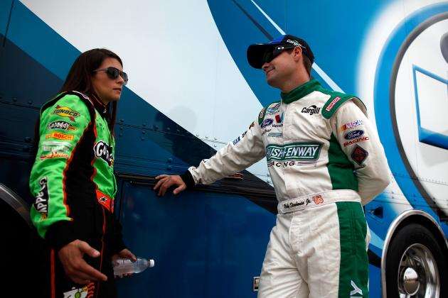 Stenhouse Happy with His 'Hot' New Girlfriend