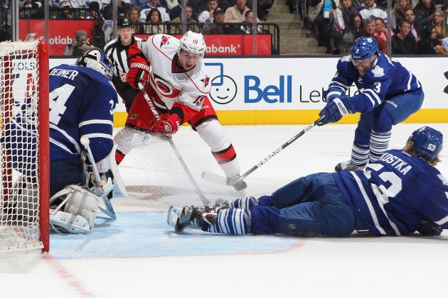 ESPN Gamecast: Maple Leafs vs. Hurricanes