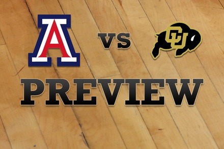 Arizona vs. Colorado: Full Game Preview