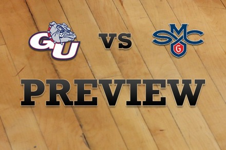 Gonzaga vs. Saint Mary's: Full Game Preview