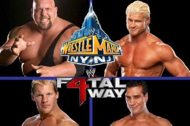 Potential Fatal 4-Way World Heavyweight Championship Match at WrestleMania 29