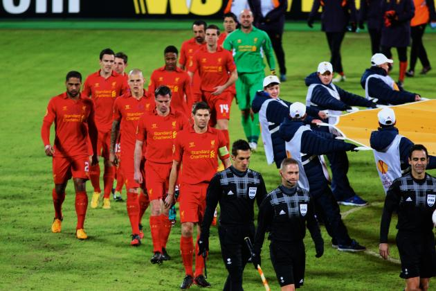 Rating the Liverpool Players Against Zenit St Petersburg