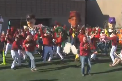 Video: Arizona Diamondbacks Do the Harlem Shake