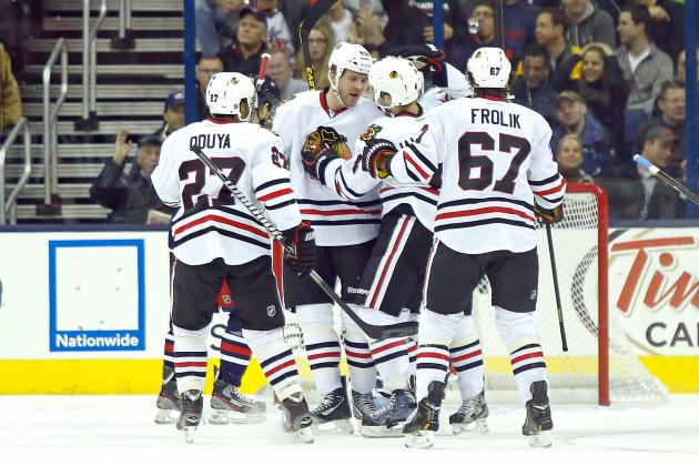 Blackhawks Look to Bring Road Success Home