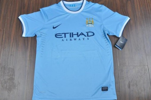 Nike's Manchester City Home Shirt for the 2013-14 Season