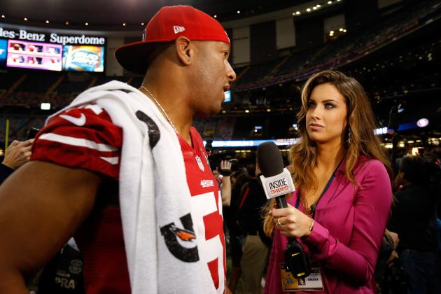 Katherine Webb: Thanking Brent Musburger for Helping Career Was Classy Move