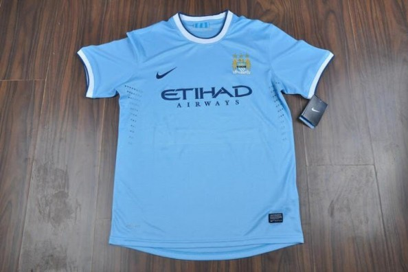 Manchester City's 2013 Home Kit Reportedly Revealed in Leaked Photo