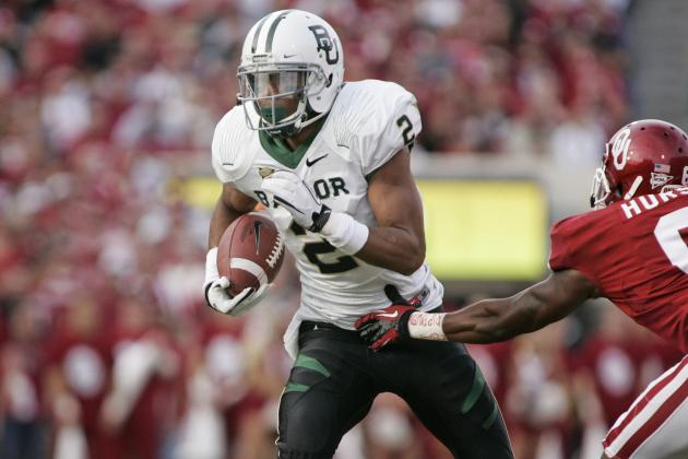 Baylor Bears' Art Briles on Terrance Williams