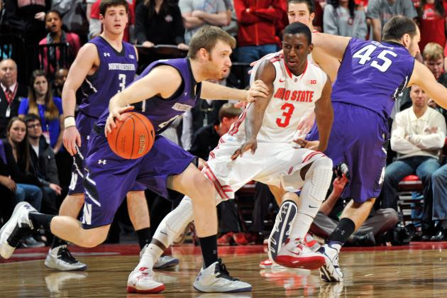 Men's Basketball: Ohio State Survives Visit by Northwestern
