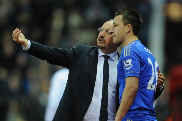 Chelsea Boss Benitez at Loggerheads with Captain Terry over Knee Problem