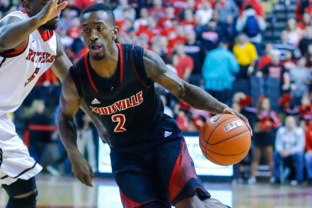 Louisville uses Smith's 12 straight points to roll