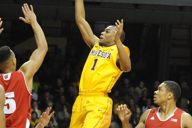 Andre Hollins Shows His Heart in Win over Wisconsin