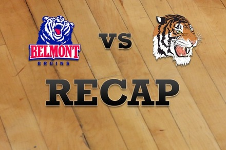 Belmont vs. Tennessee State: Recap, Stats, and Box Score