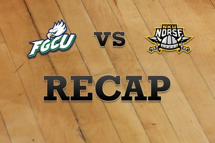 Florida Gulf Coast vs. Northern Kentucky: Recap, Stats, and Box Score