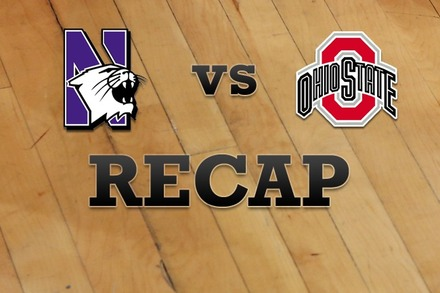 Northwestern vs. Ohio State: Recap, Stats, and Box Score