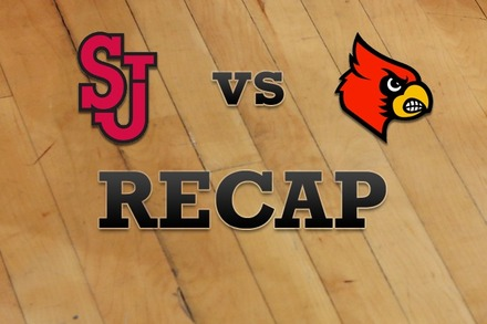 St John's vs. Louisville: Recap, Stats, and Box Score