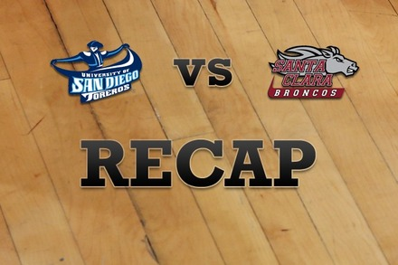 San Diego vs. Santa Clara: Recap, Stats, and Box Score