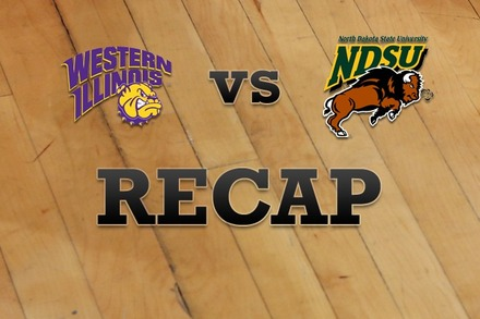 Western Illinois vs. North Dakota State: Recap, Stats, and Box Score