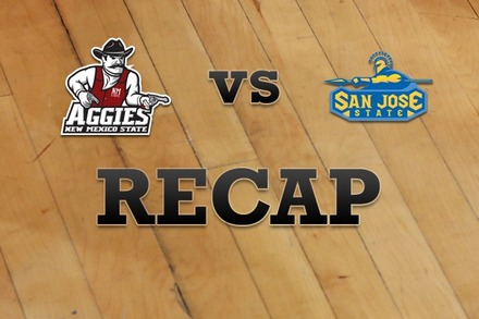 New Mexico State vs. San Jose State: Recap, Stats, and Box Score