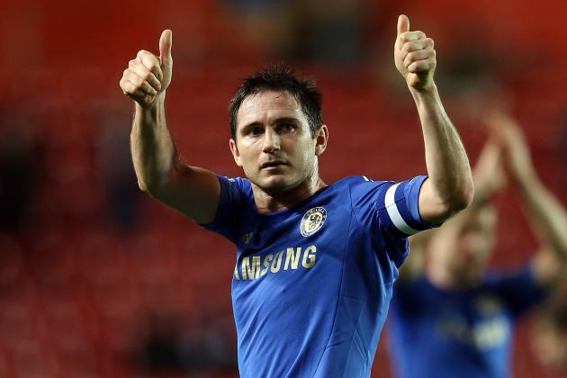 Chelsea Star Frank Lampard Signs Contract to Write Children's Books
