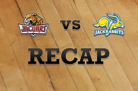 IUPUI vs. South Dakota State: Recap, Stats, and Box Score